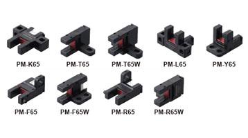放大器内置・U型微型光电传感器[小型・连接器内置型] PM-65