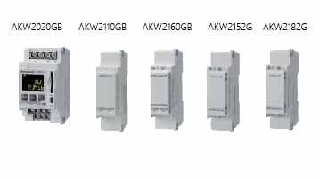 KW2G-H电力监控表