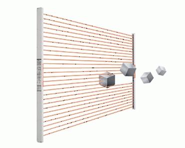 单个光轴输出型区域传感器 NB