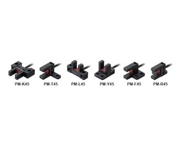 放大器内置・U型微型光电传感器[小型・电缆型] PM-45