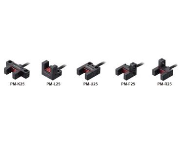 放大器内置・U型微型光电传感器[超小型・电缆型] PM-25
